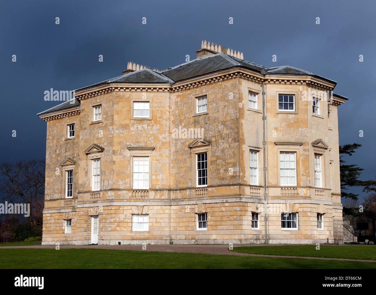 Danson House di Danson Park, Bexley, nel sud est di Londra, Inghilterra, Regno Unito. Immagini Stock