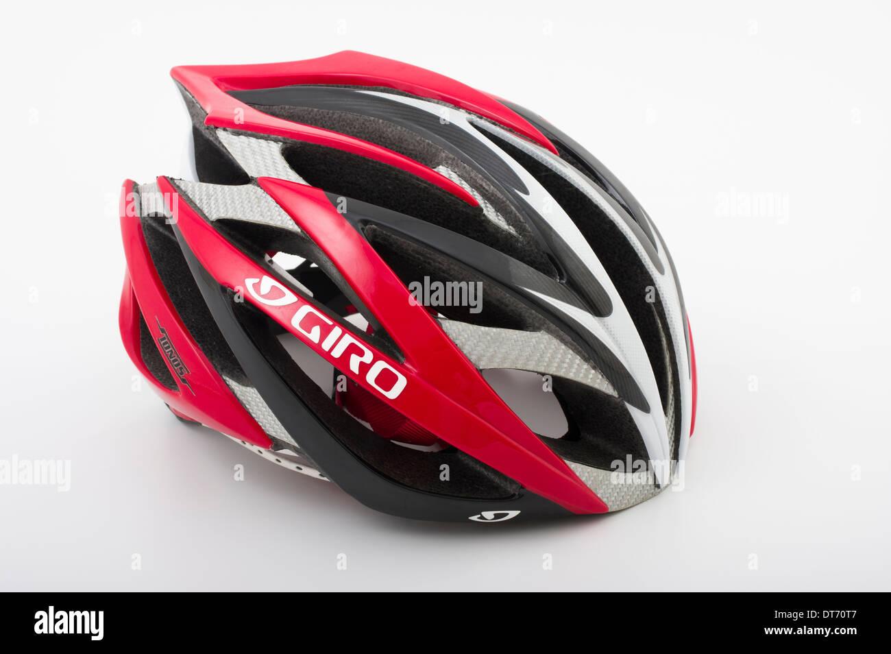 Giro Ionos leggero da corsa su strada ciclismo / triathlon casco Immagini Stock