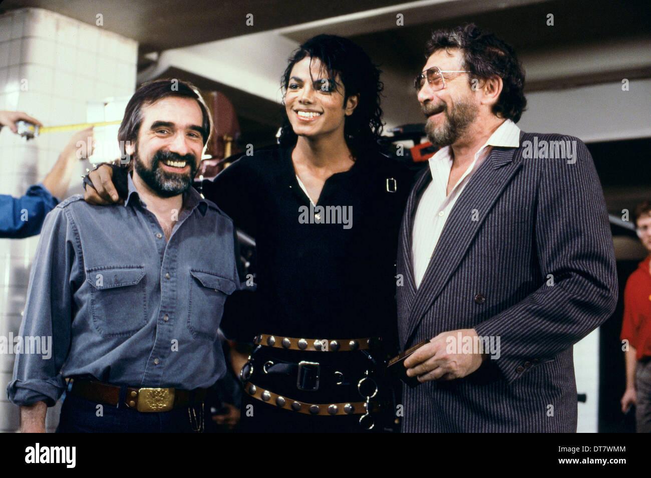 MARTIN SCORSESE e Michael Jackson BAD 25 (2012) Immagini Stock