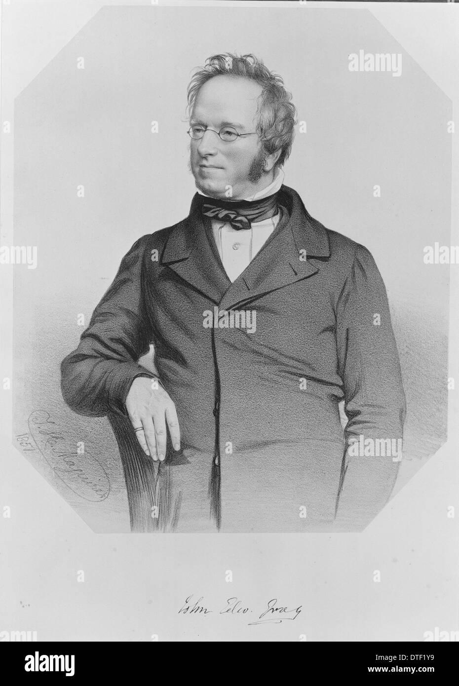 John Edward Gray (1800-1875) Immagini Stock