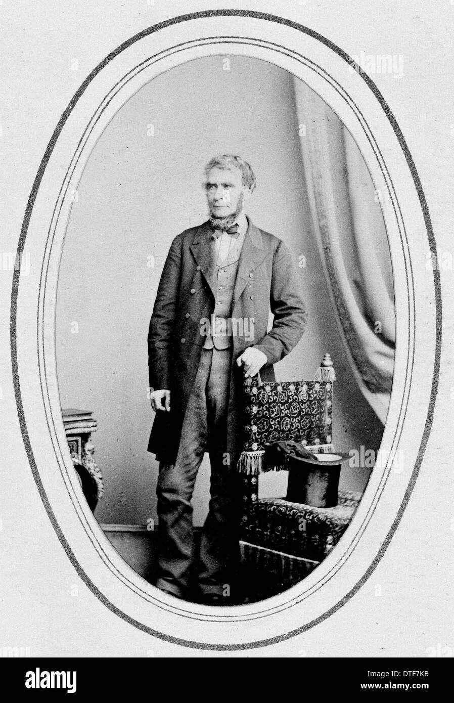 George Bentham (1800 -1884) Immagini Stock