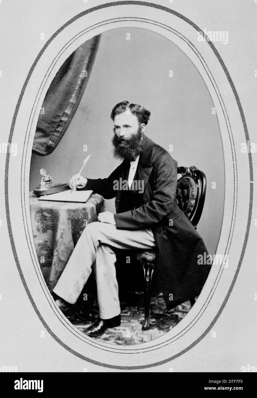 Il dottor William Lauder Lindsay (1829-1880) Immagini Stock