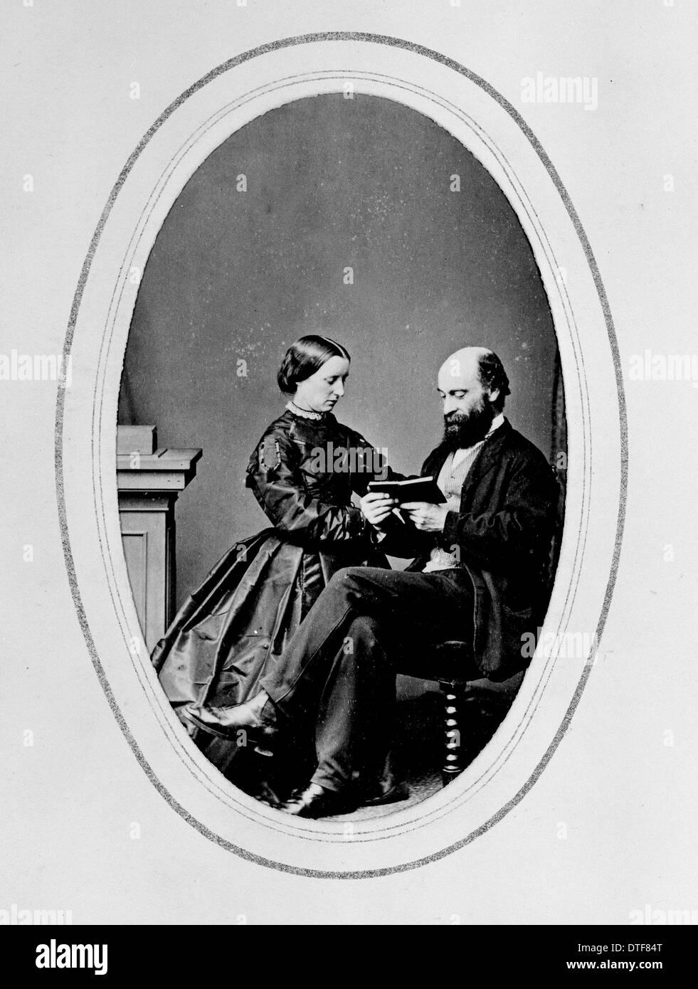 George e H.G. Baynes Immagini Stock