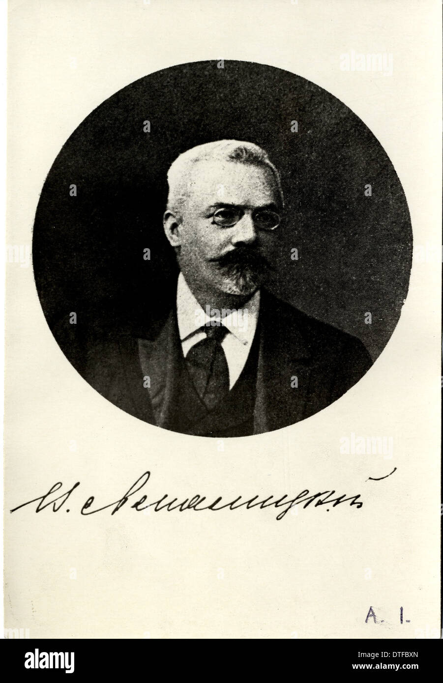 Vladimir Prokhorovich Amalitzkii (1860-1917) Foto Stock