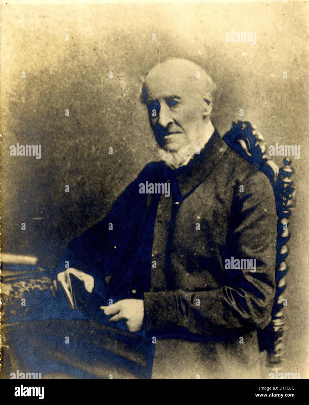 Il rev. Leonard Bloomfield (1800-1893) Immagini Stock