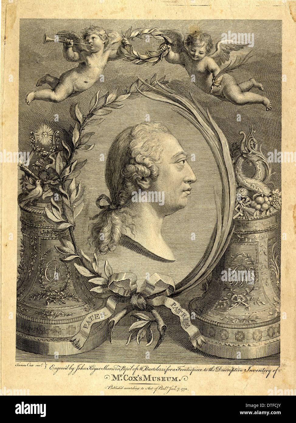 Giorgio III Immagini Stock