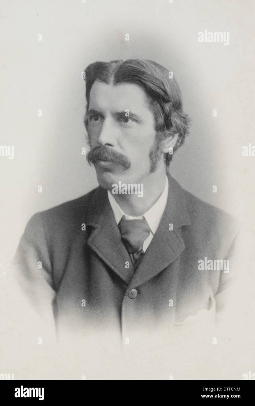 Alfred Cort Haddon (1855-1940) Immagini Stock