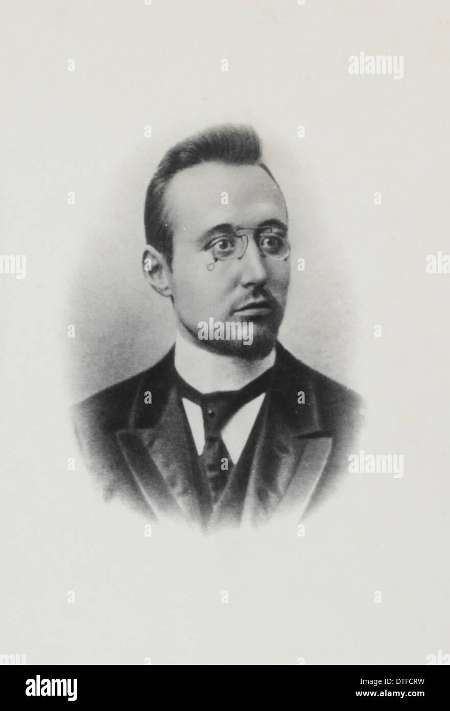 Paolo Pelseneer (1863-1945) Immagini Stock