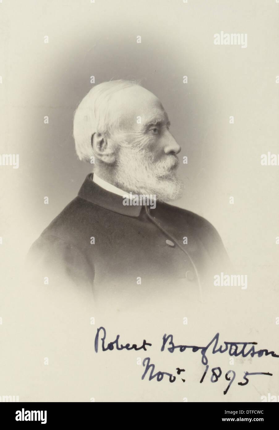 Robert Boog Watson (1823-1910) Immagini Stock