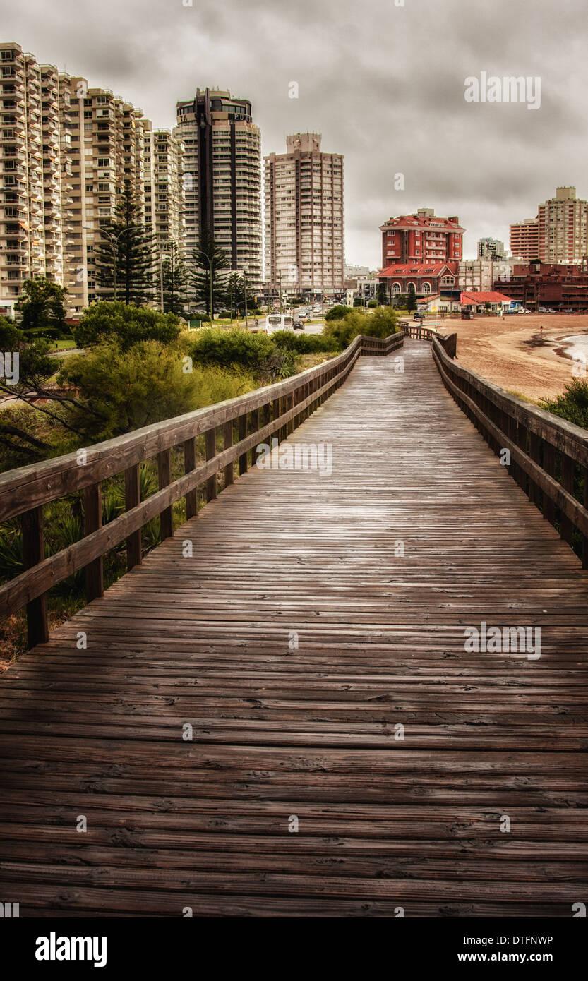 Foto scattata a Punta del Este, Montevideo Immagini Stock