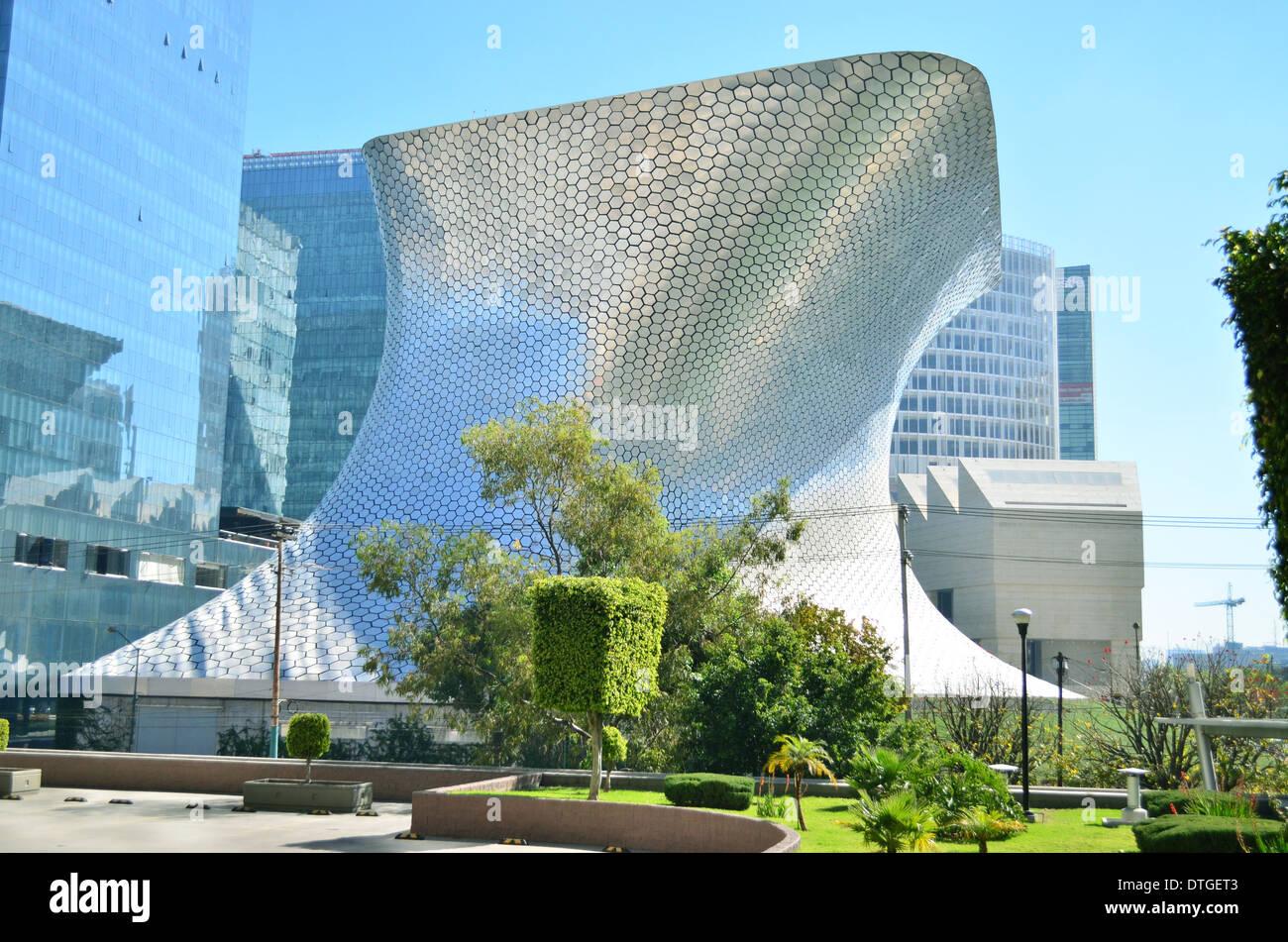 Soumaya, Polanco, Città del Messico il Museo di Arte Contemporanea Immagini Stock