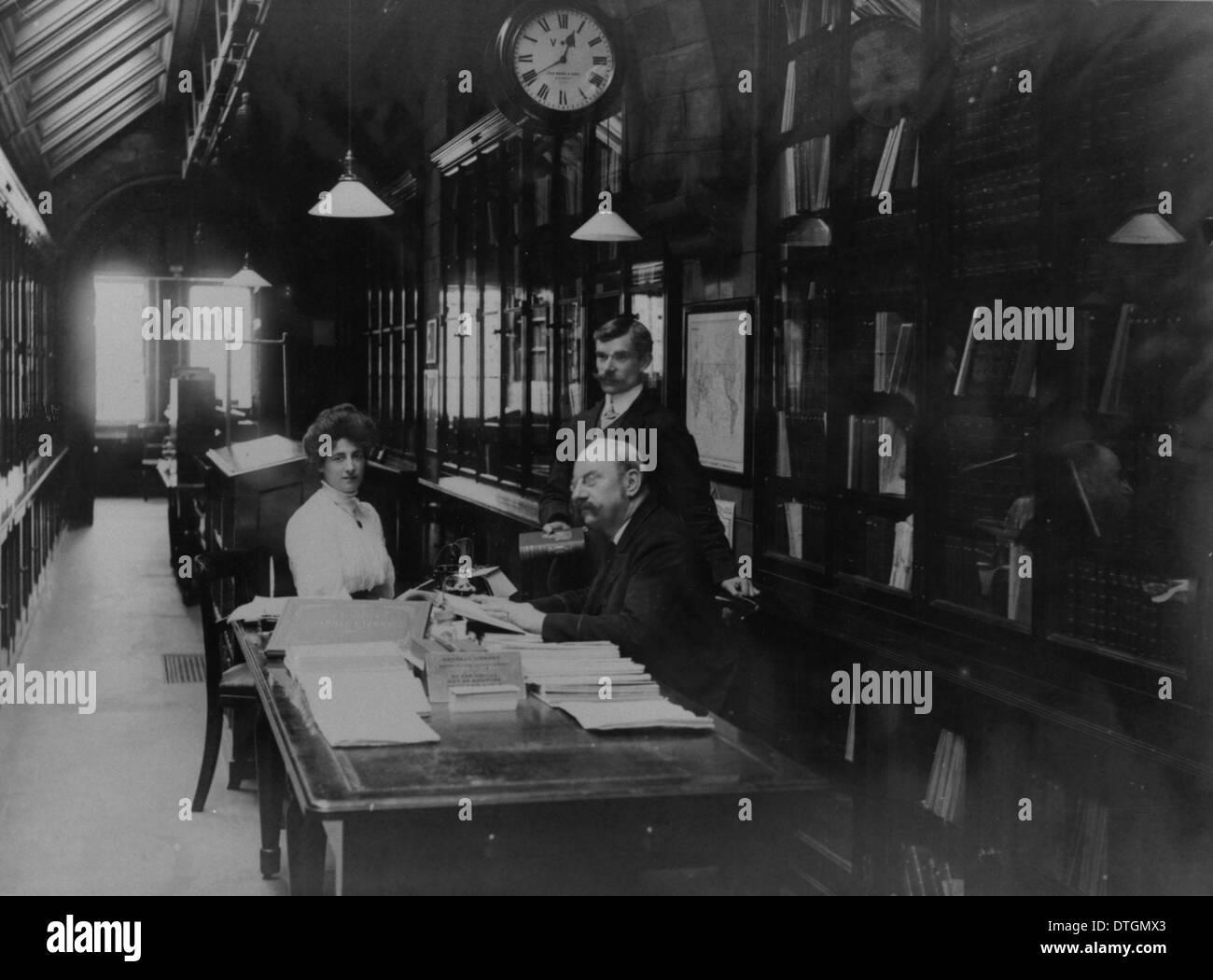 Woodward Bernard Barham (1853-1930) Immagini Stock