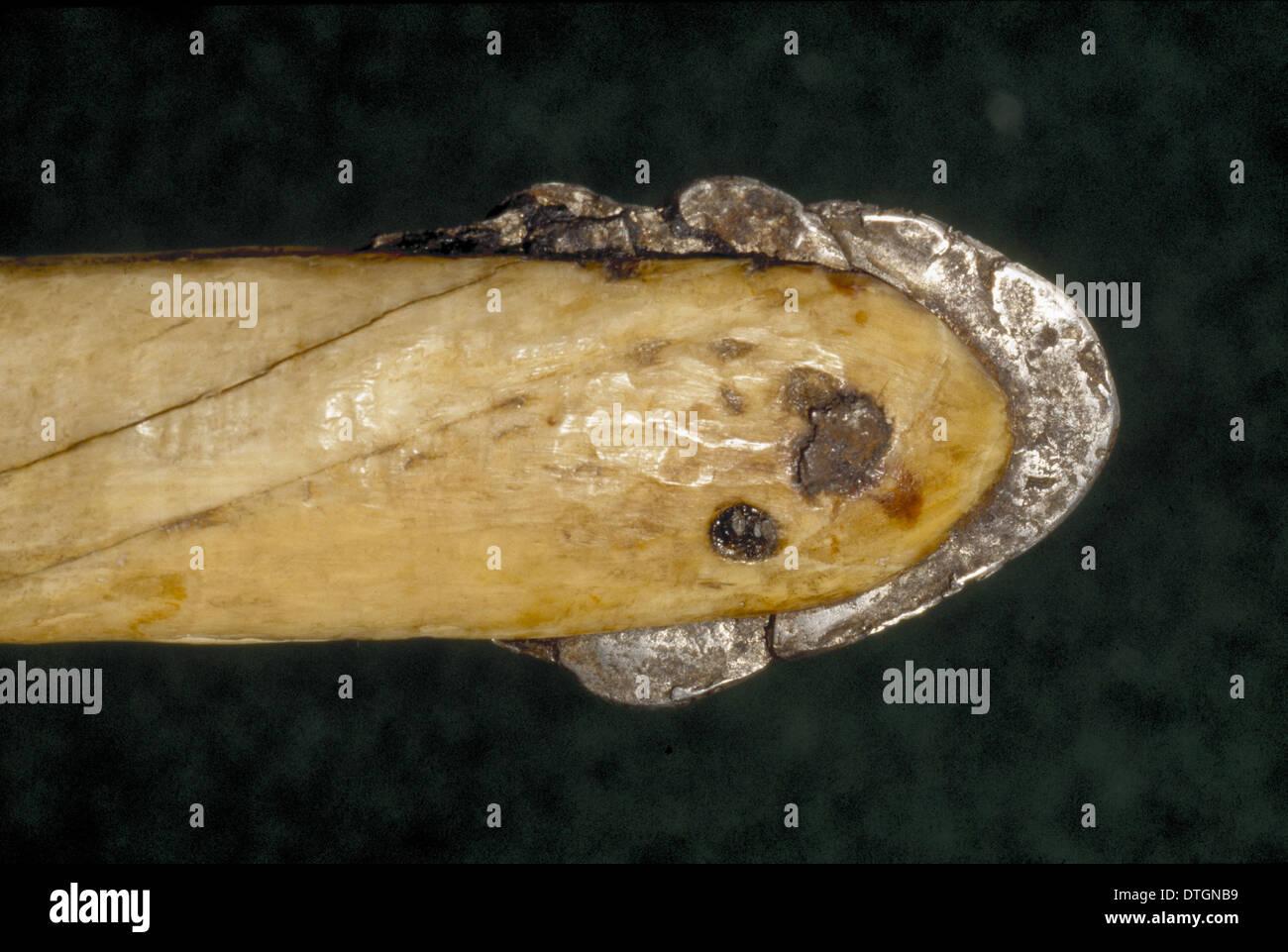 Gli strumenti a mano fatte da gli Inuit della Groenlandia Immagini Stock