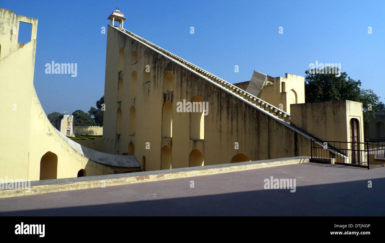 Jantar Mantar, Jaipur, Rajasthan, India Immagini Stock