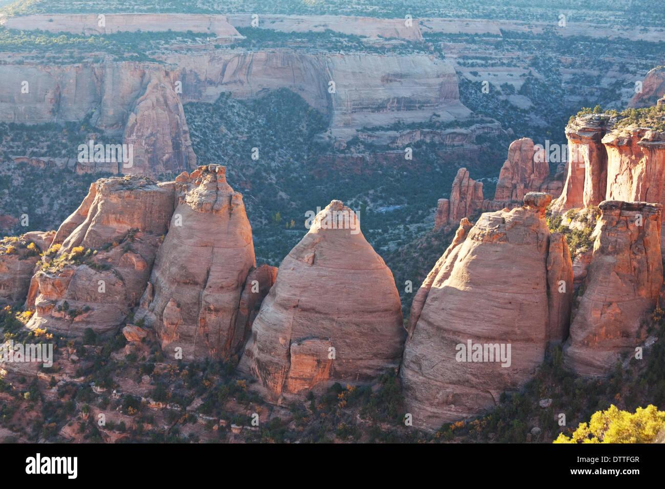 Monumento di Colorado Foto Stock
