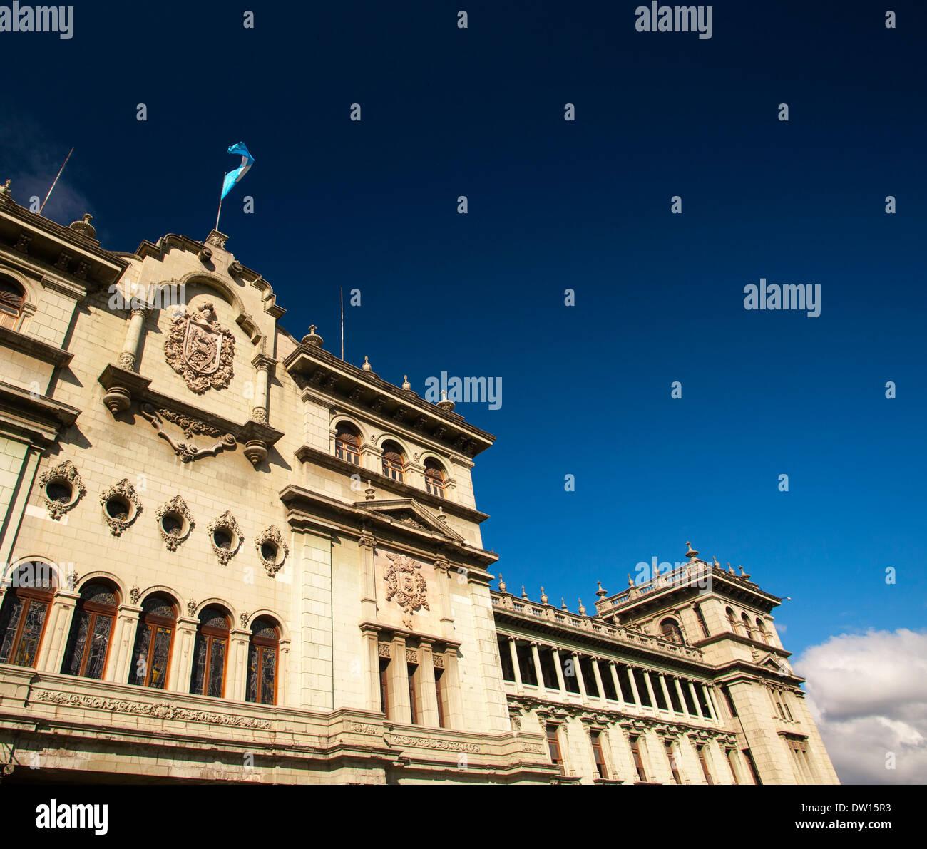 Palacio Nacional de la Cultura, nella città di Guatemala Immagini Stock