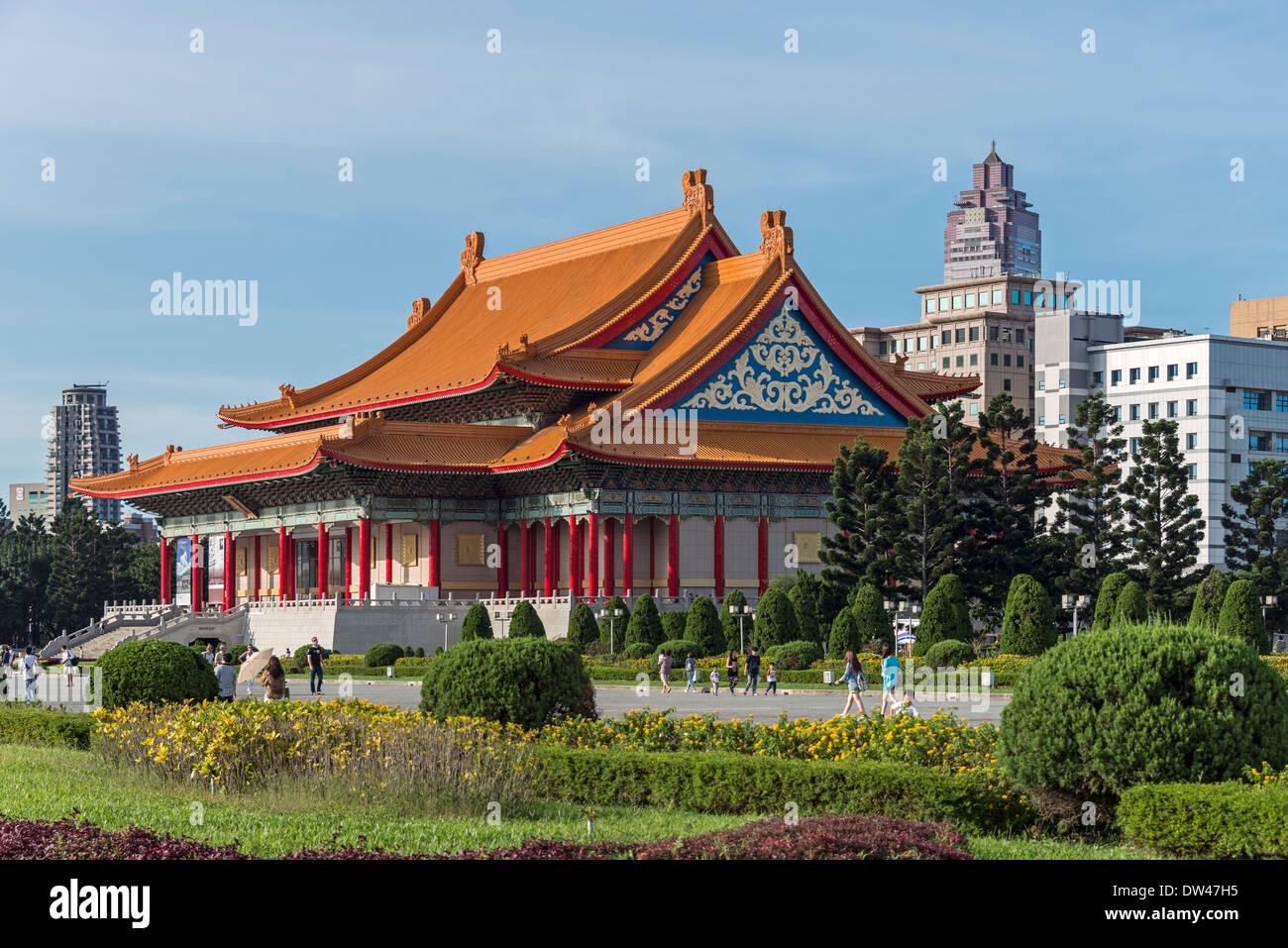 La national concert hall di Taipei, Taiwan Immagini Stock