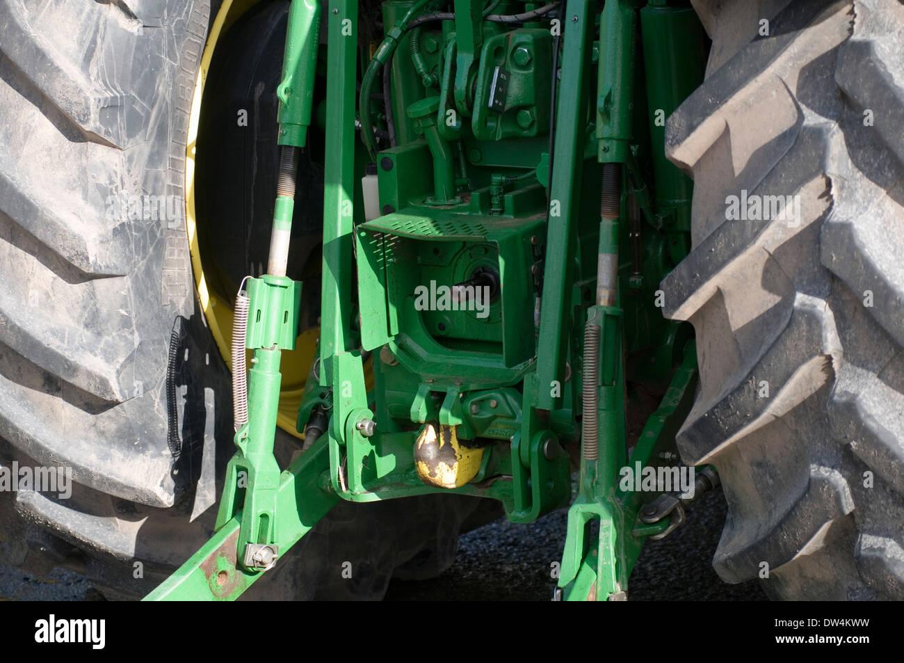 Tre punti di aggancio del trattore
