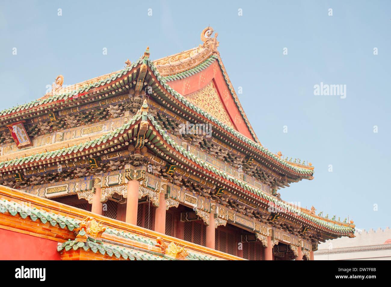 Shenyang Pechino palazzo imperiale la città proibita in Cina Foto stock -  Alamy