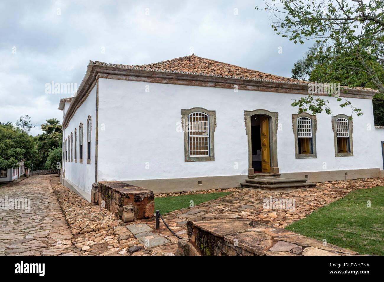 Tiradentes, Padre Toledo Museum Immagini Stock