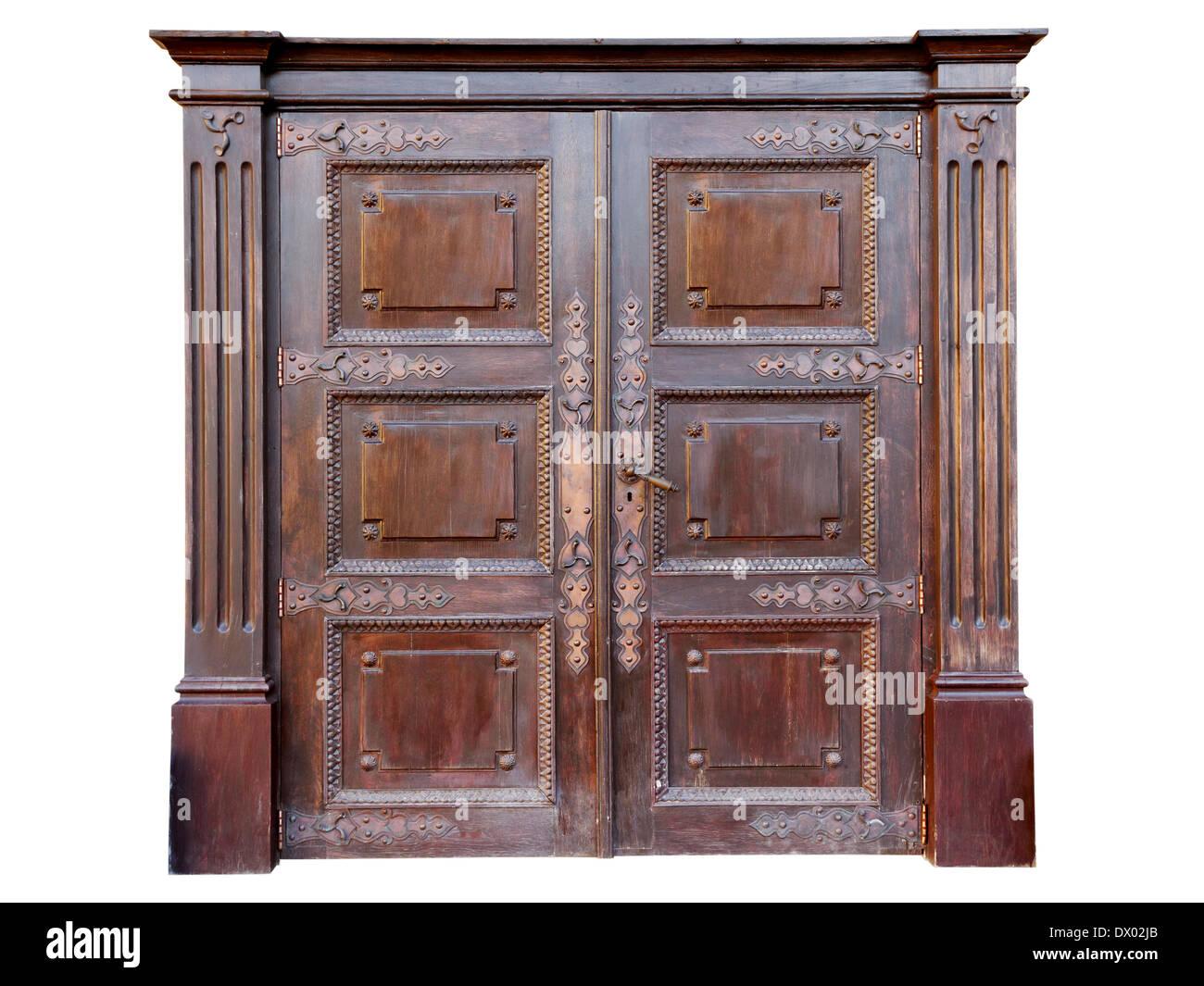 Letti In Ferro Vintage : Vintage porta di ingresso arredata con letti in ferro battuto