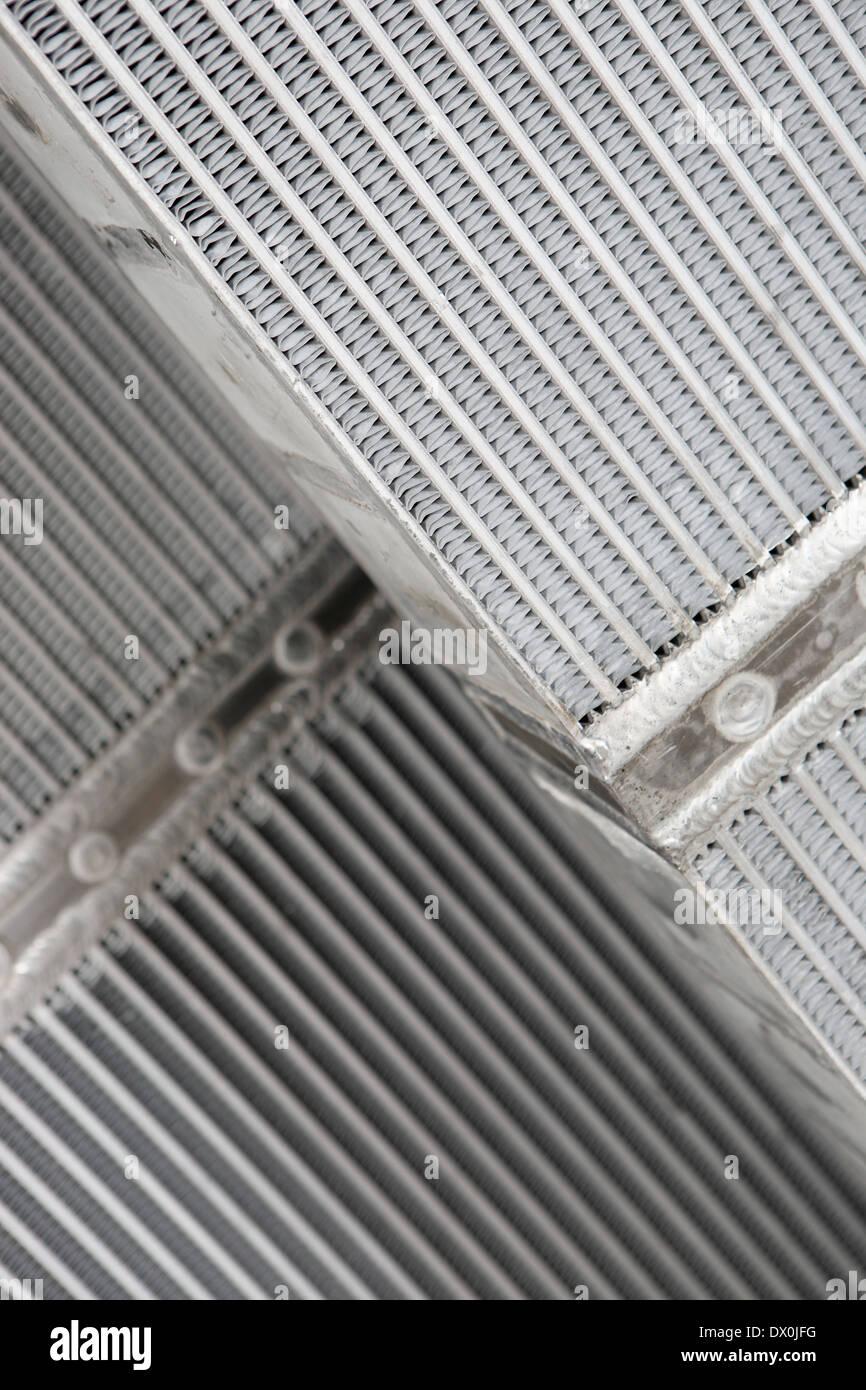 Radiatore di fabbricazione di metalli Immagini Stock