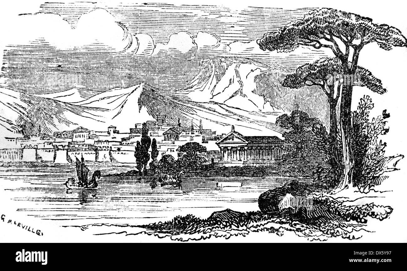 datazione città greca