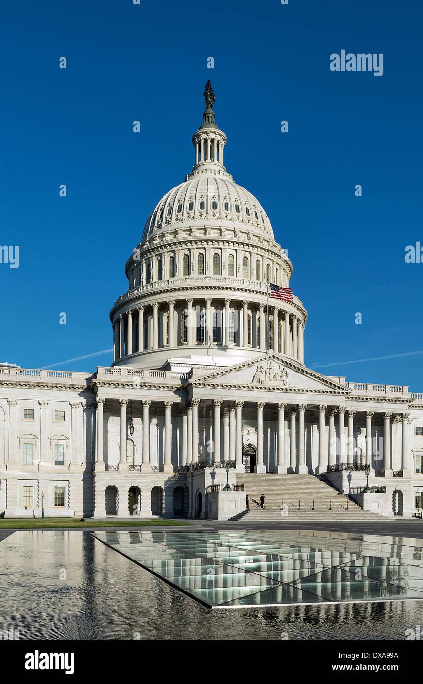 La United States Capitol Building, Washington D.C., USA Immagini Stock