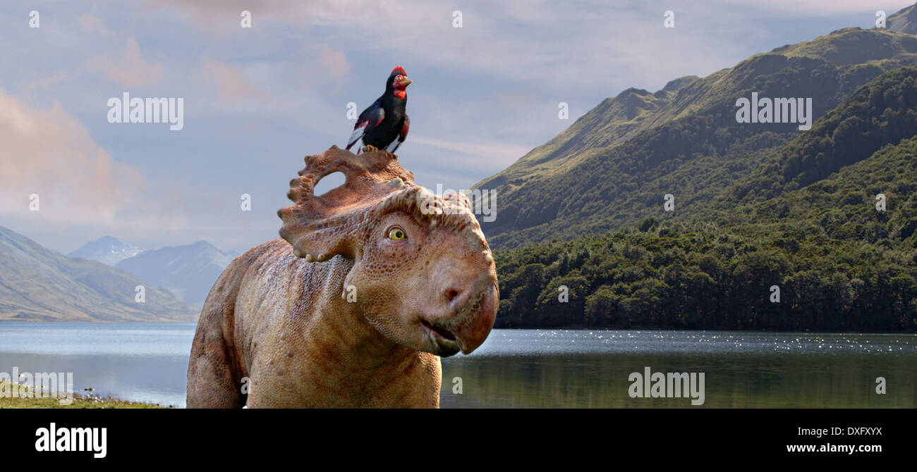 Walking with Dinosaurs 3D Foto Stock