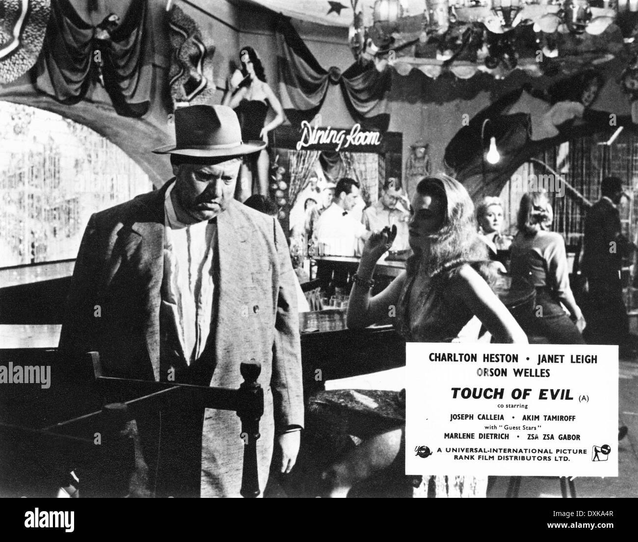 TOUCH OF EVIL Immagini Stock