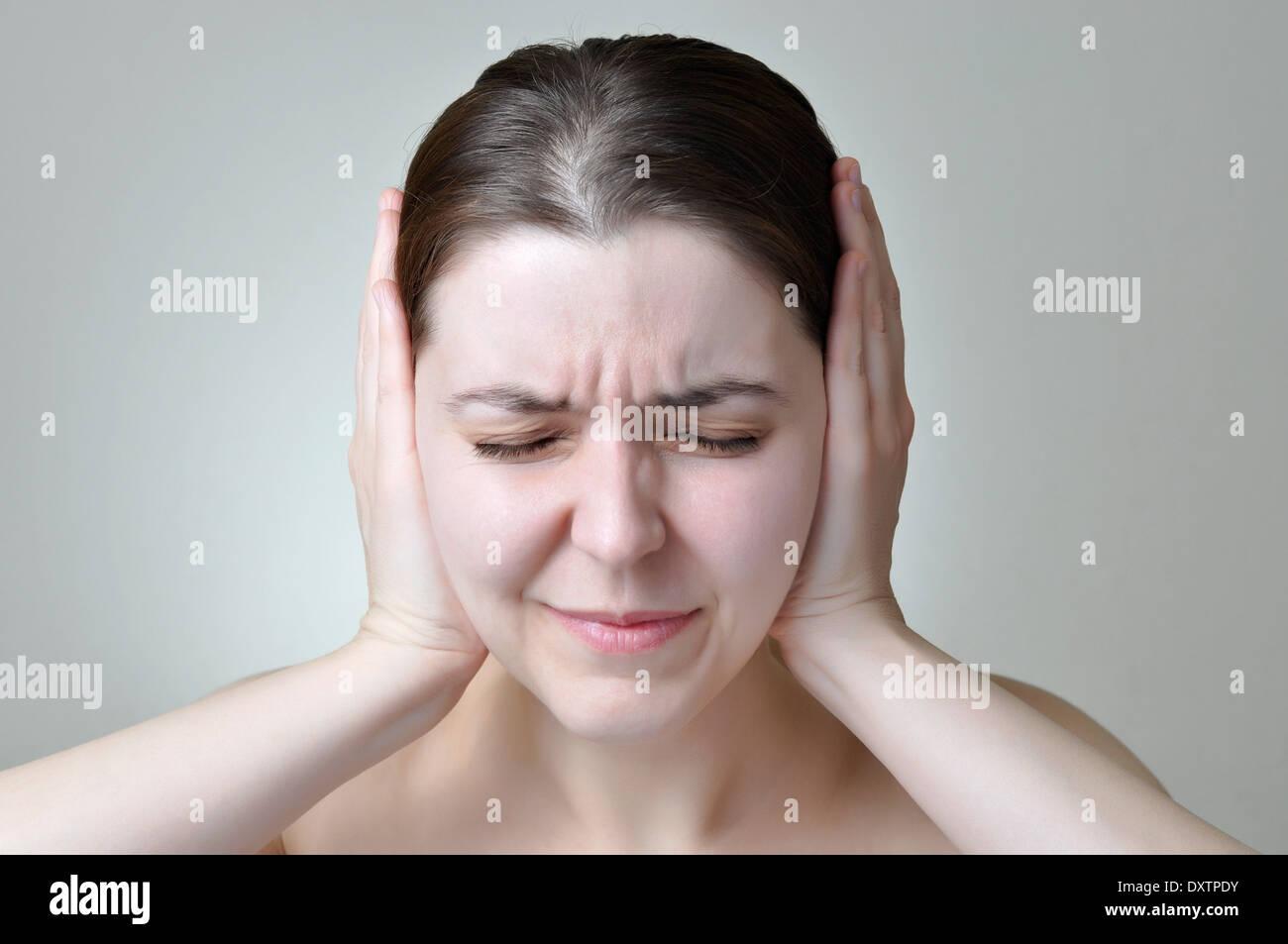 Inquinamento acustico Immagini Stock