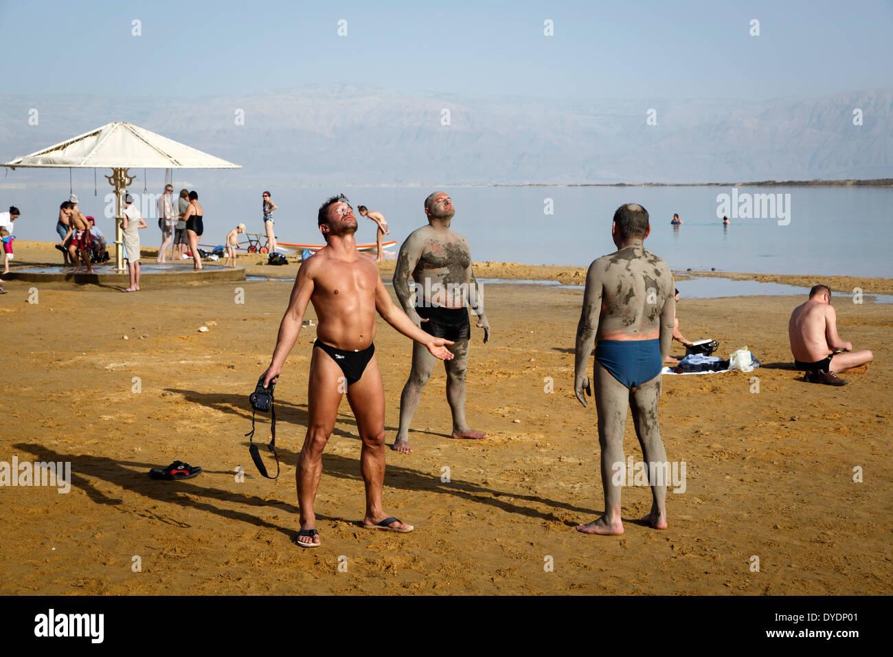 Mar Morto, Israele. Immagini Stock