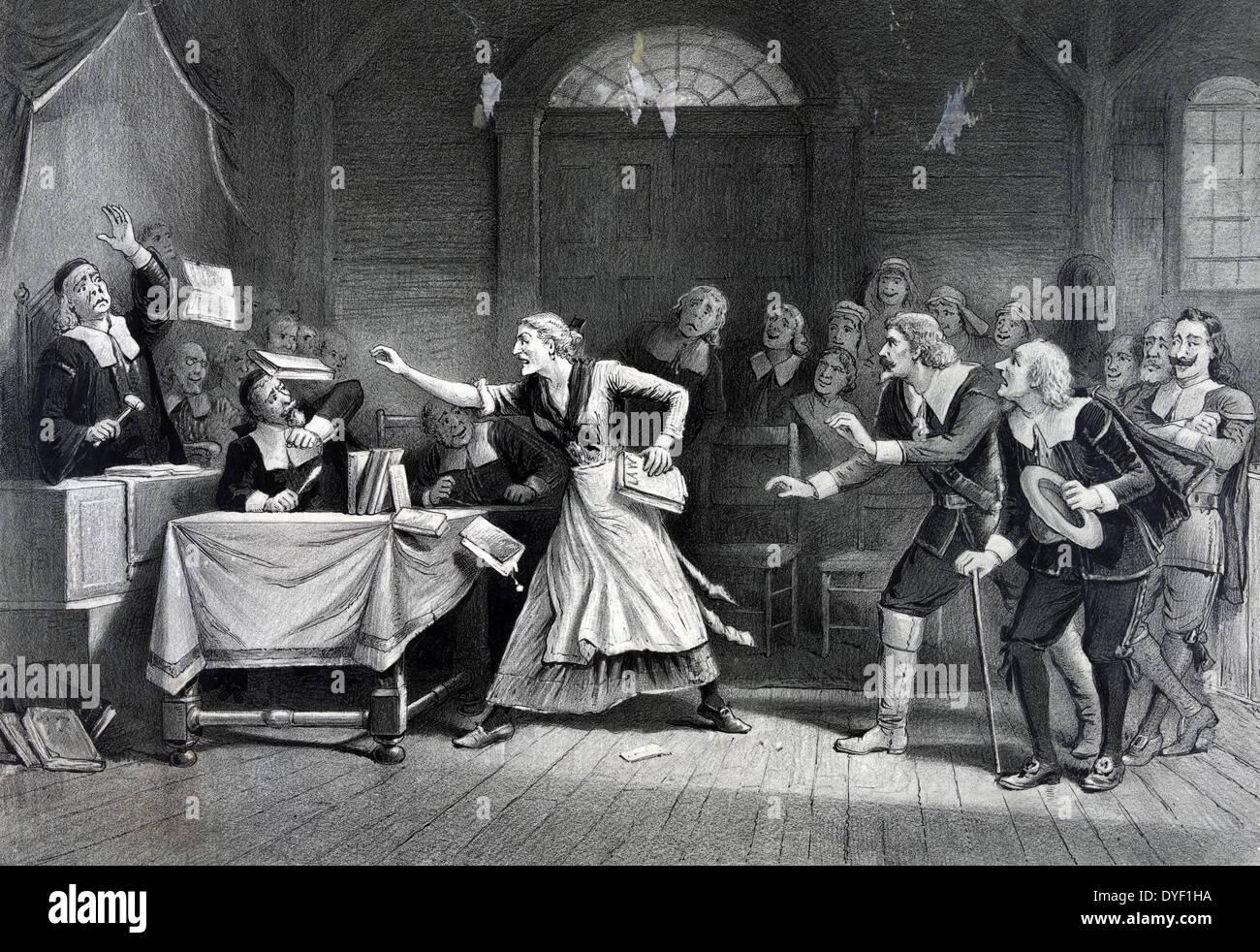 La strega n. 3 1892 Immagini Stock