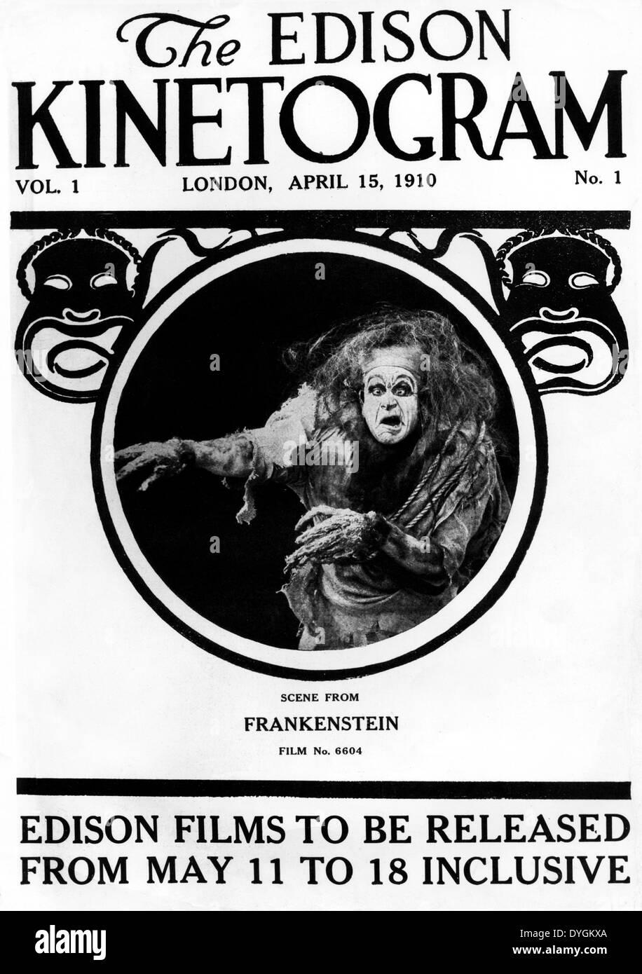 Frankenstein (1910) j searle dawley (dir) anke 001 collezione moviestore ltd Immagini Stock