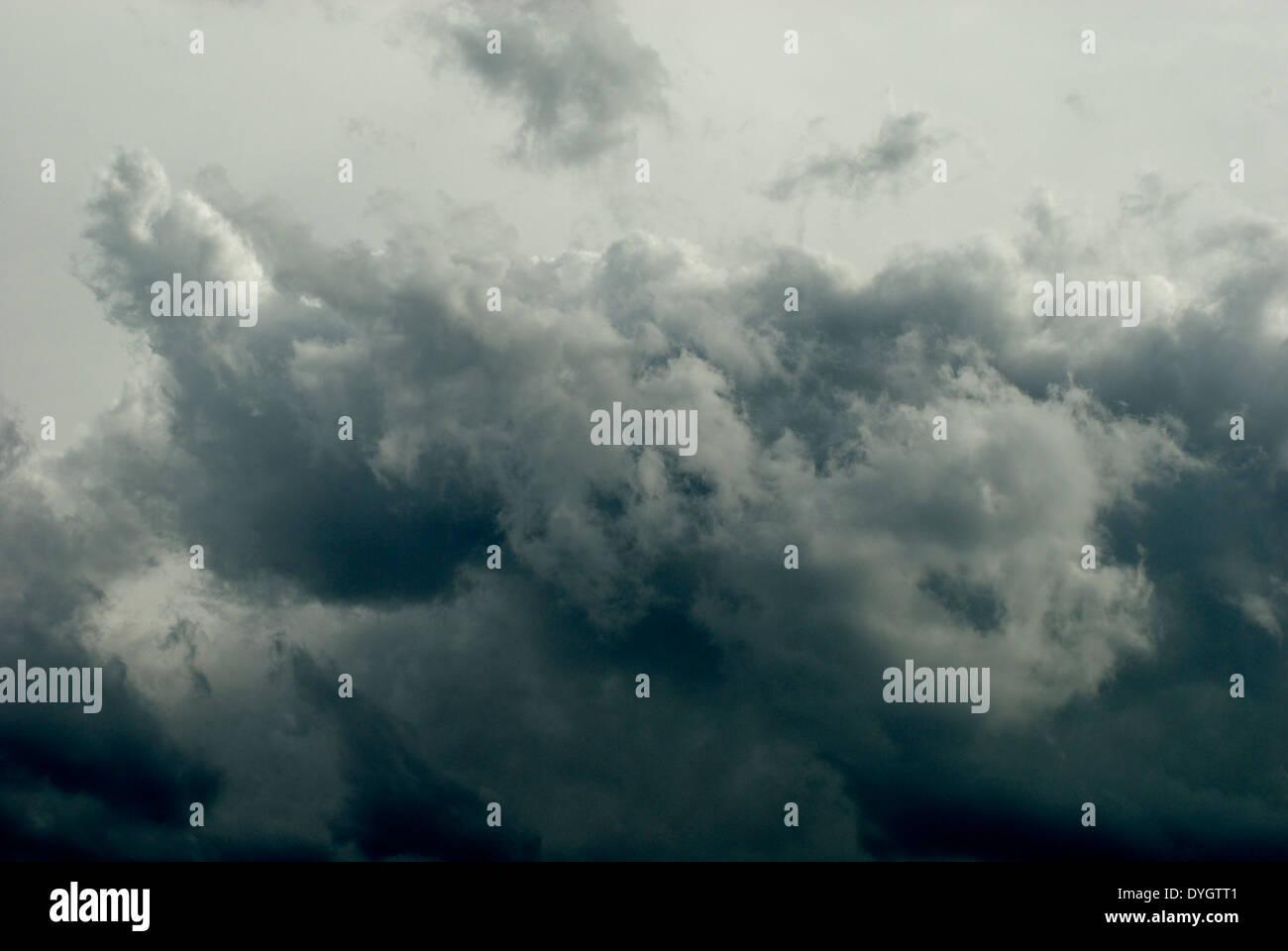 Nubi di tempesta Immagini Stock