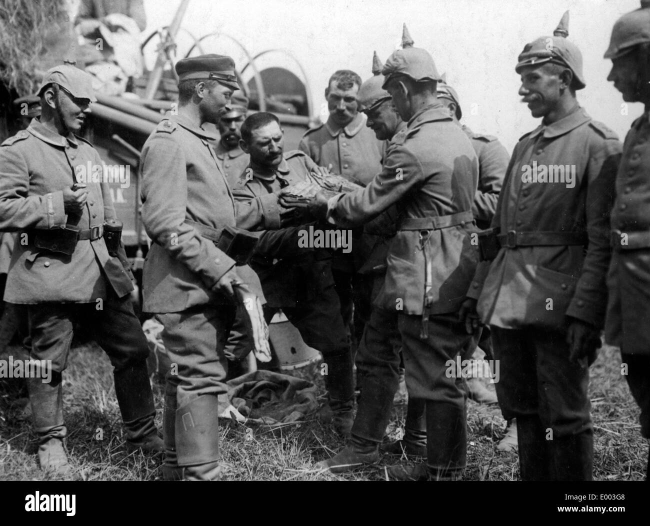German Soldiers 1914 Immagini   German Soldiers 1914 Fotos Stock - Alamy cabfc35a9bed