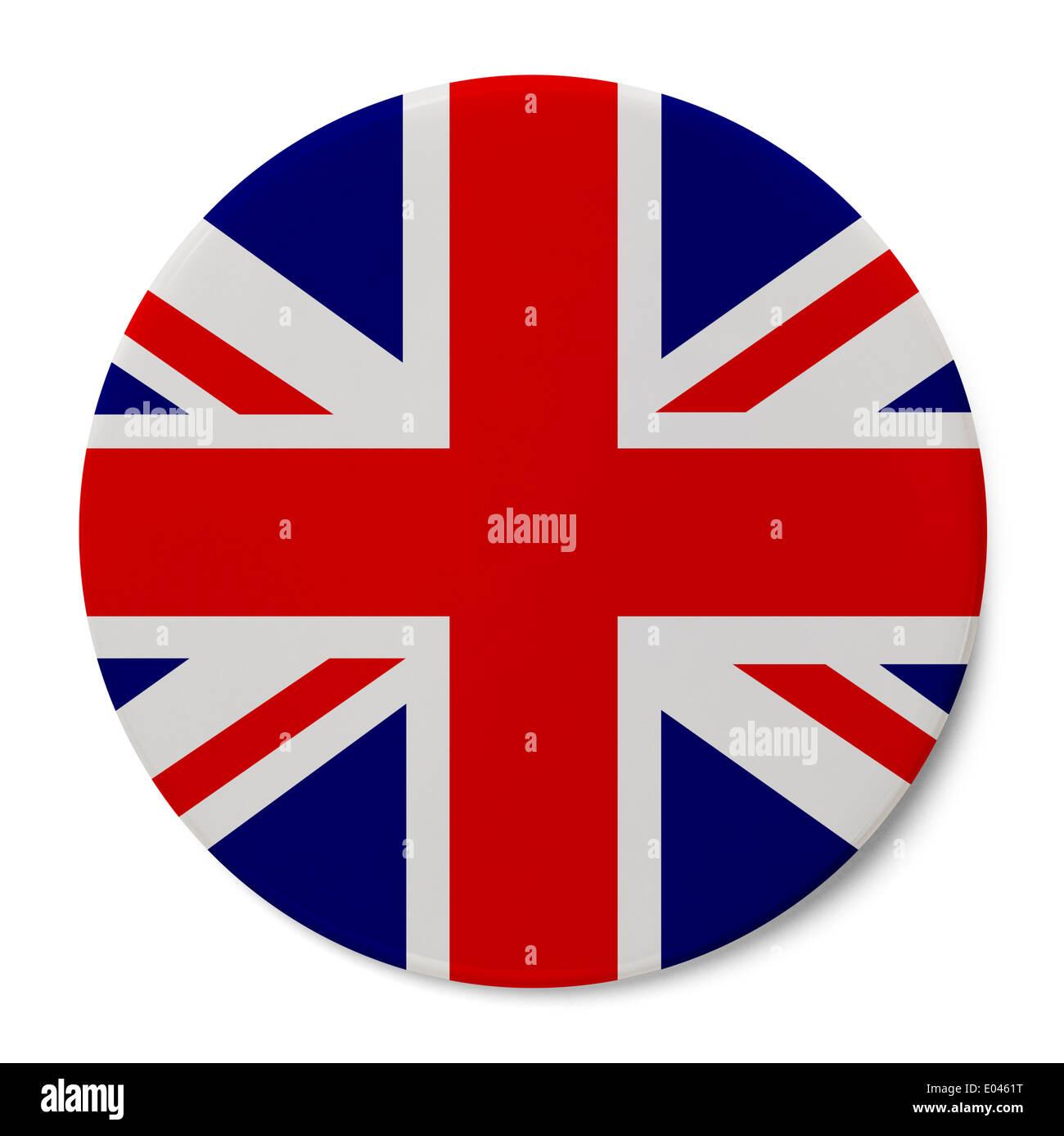 Bandiera Inglese Con Sfondo Rosso Klingedingen