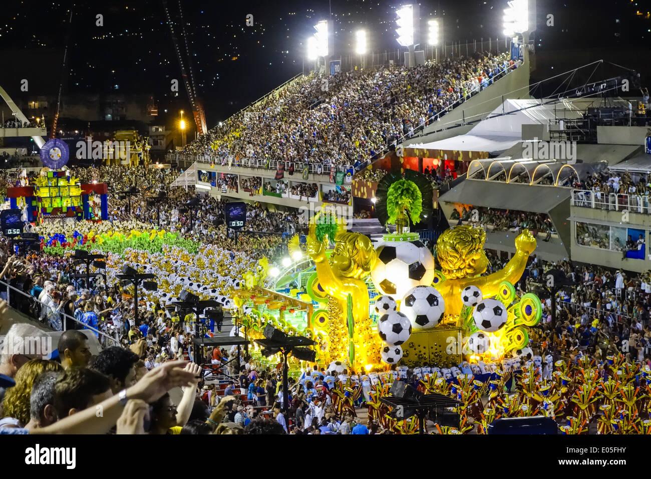 Brasile FIFA World Cup 2014 campionati del mondo di calcio, Rio de Janeiro, Brasile Immagini Stock