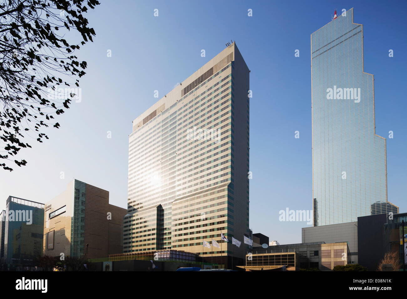 Coex World Trade Tower, Seoul, Corea del Sud, Asia Immagini Stock