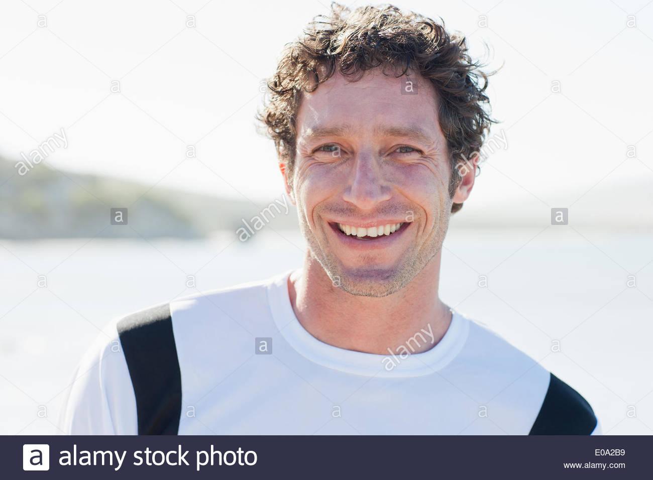 Uomo in abbigliamento sportivo Immagini Stock
