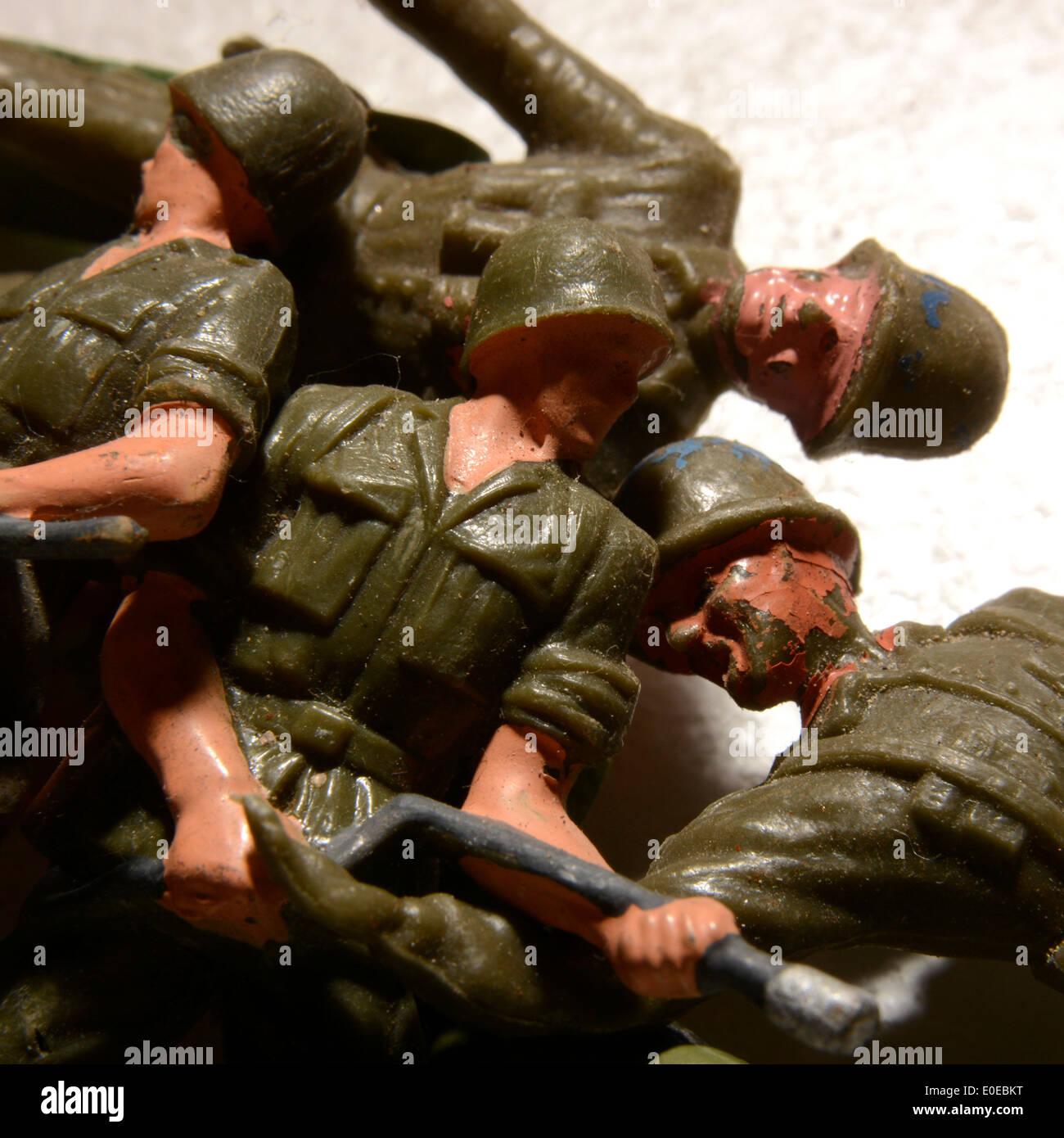 Soldatini Foto Stock