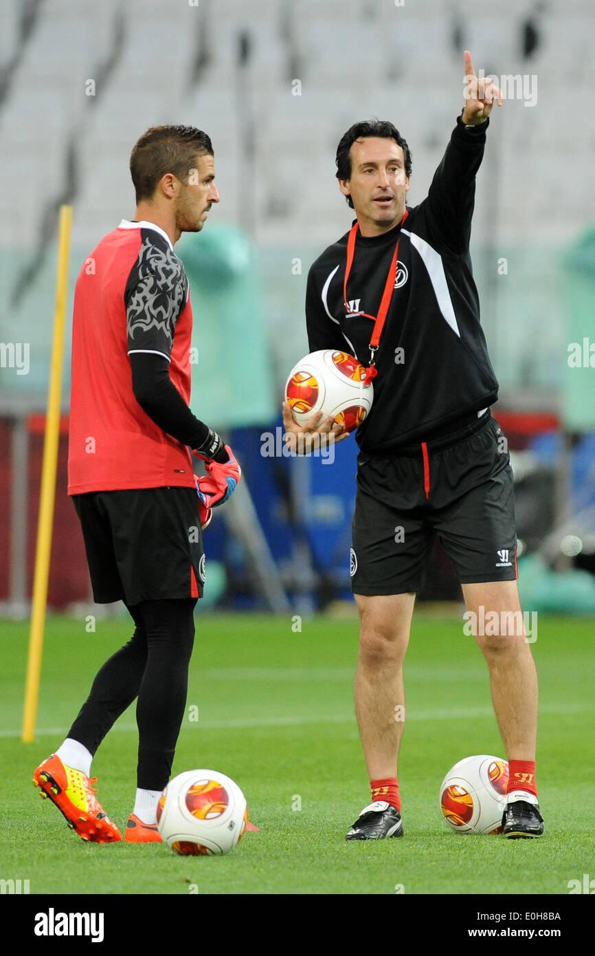 Allenamento calcio Sevilla FC sito