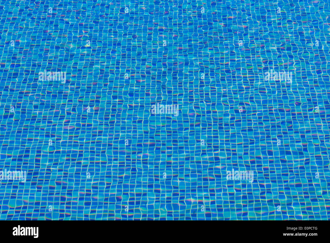 Piastrella ceramica mosaico in piscina seamless texture foto