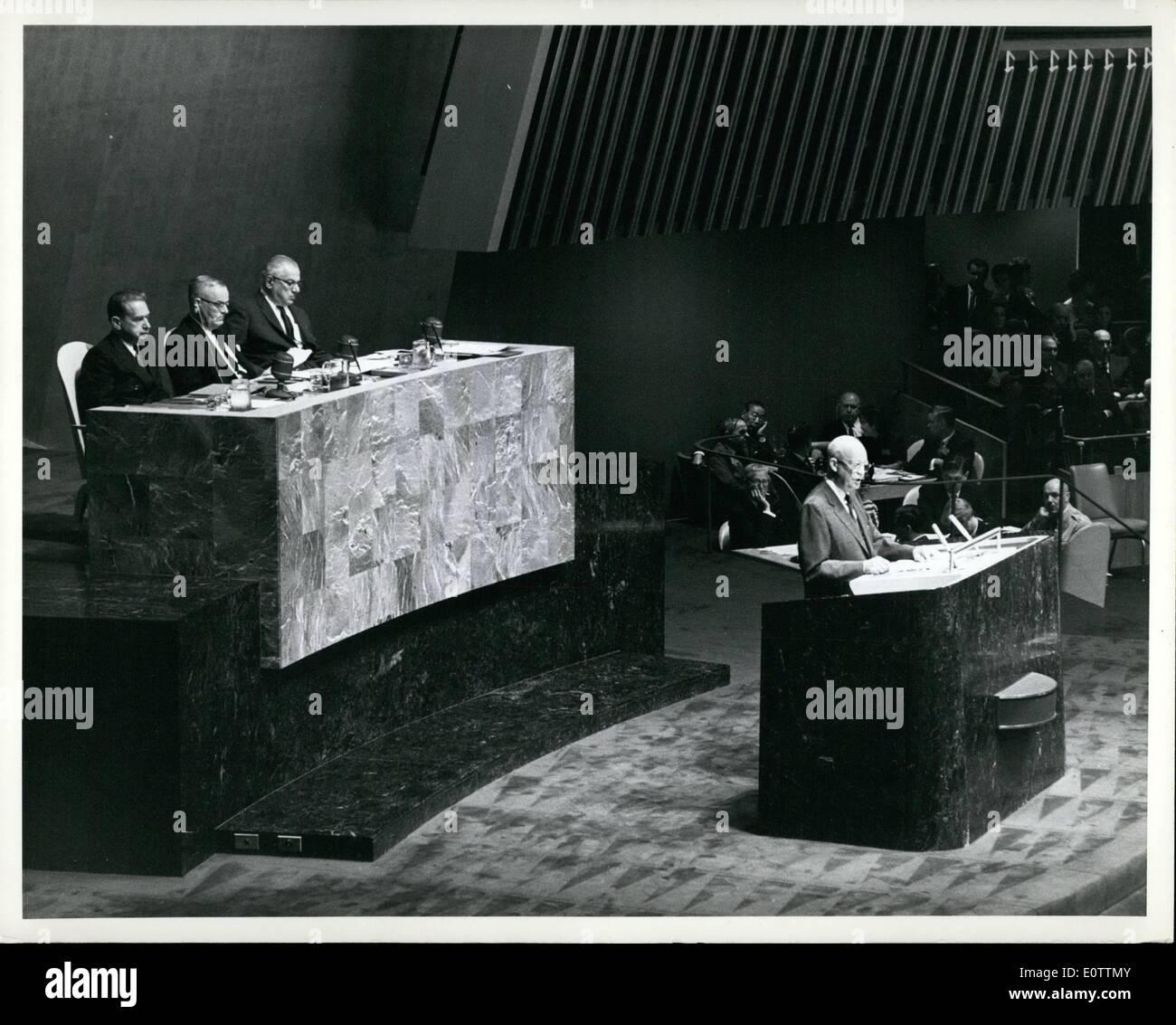c77b5837b2 09, 1960 - ASSEMBLEA GENERALE DELLE NAZIONI UNITE inizia Debats generale:  l'Assemblea Generale, che ha aperto la sua quindicesima sessione regolare  prima ...