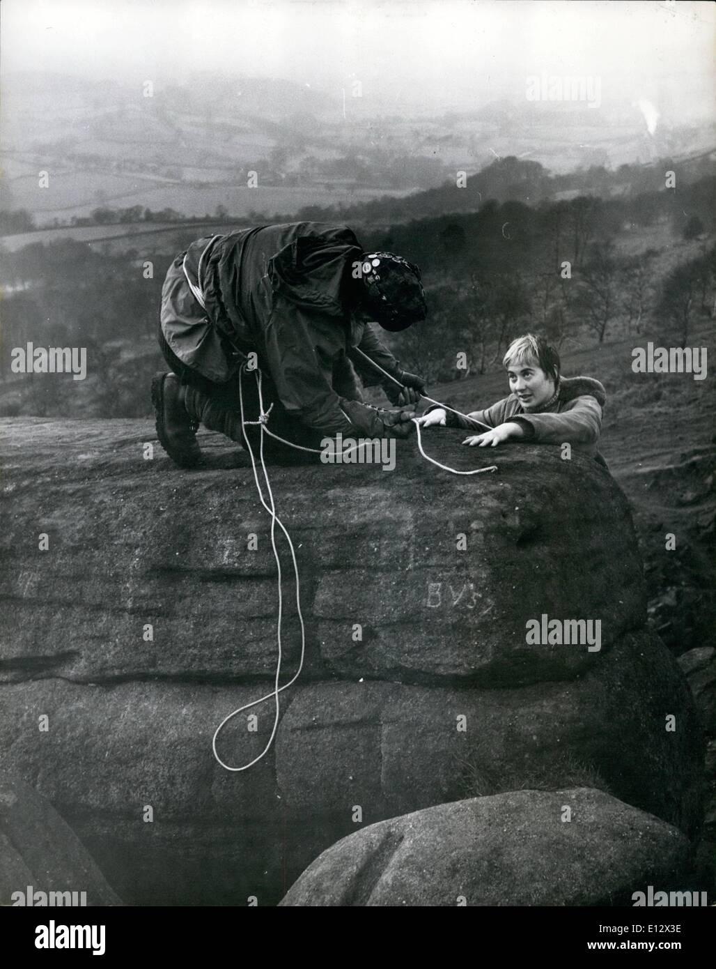 Febbraio 26, 2012 - Sosta tecnica: istruttori Ronald Shuttleworth e Verde Edrie dimostrano una sosta tecnica. Immagini Stock