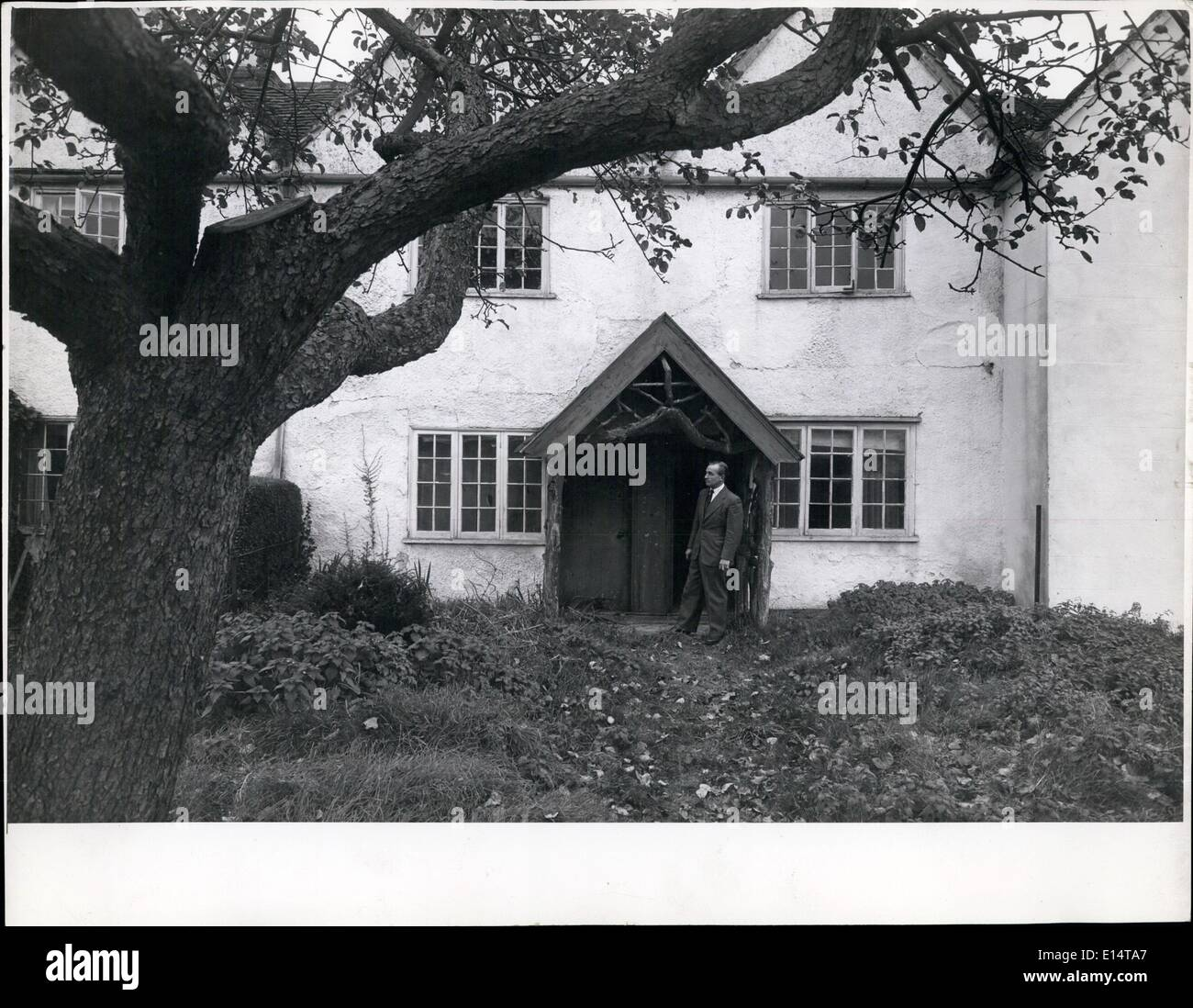 Apr. 18, 2012 - Mr.Catcher gentilmente ~~ del cottage ~~~ fine dove la morale religiosa sono stati trovati. Immagini Stock
