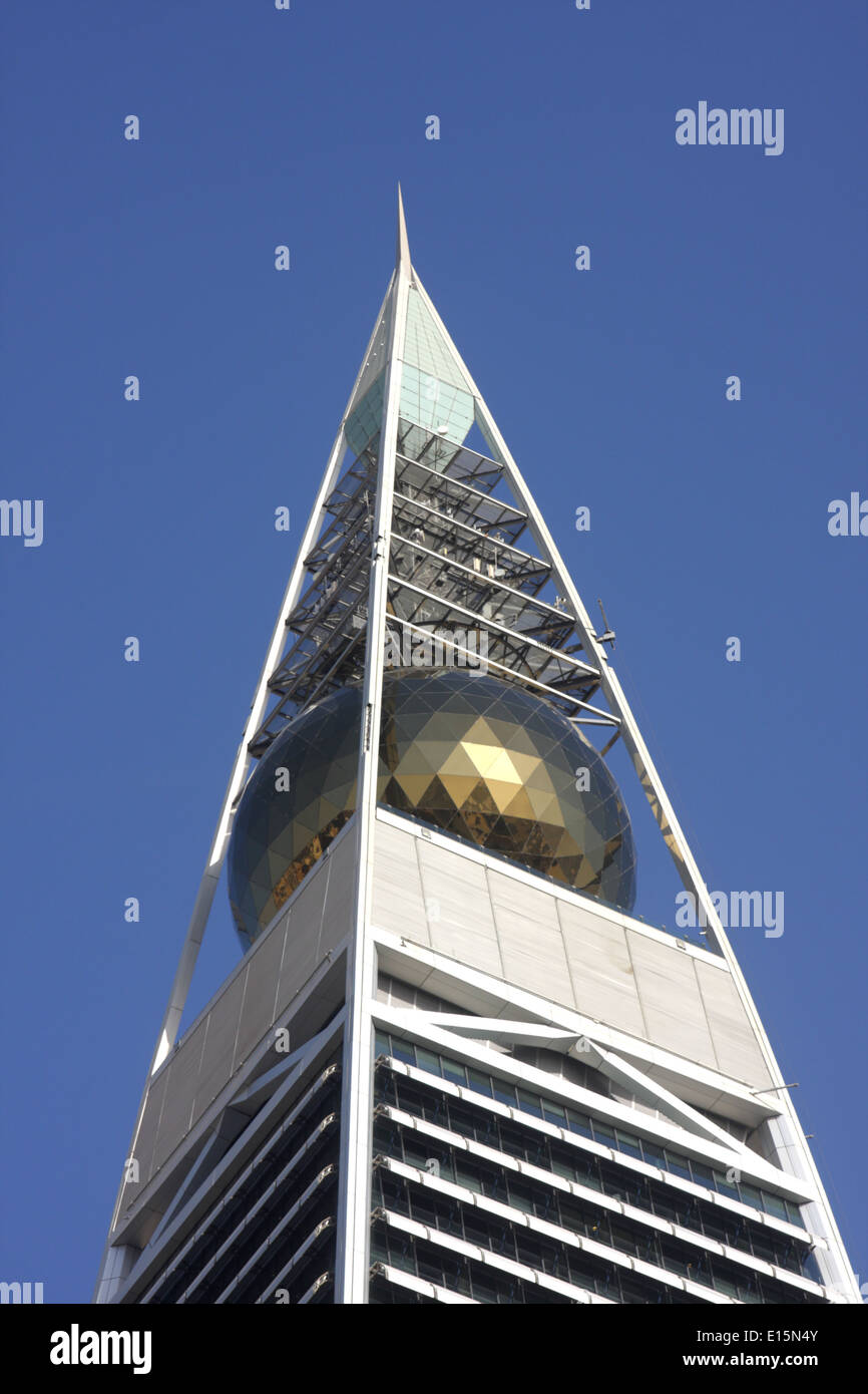 Al Faisalia Tower, Riyadh, Regno di Arabia Saudita Immagini Stock