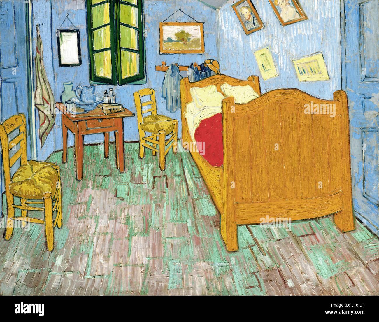 Camera da letto di Arles di Vincent Van Gogh Foto & Immagine ...