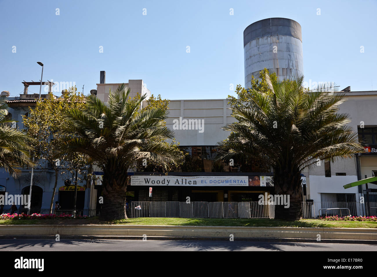 Centro arte alameda Santiago del Cile Immagini Stock