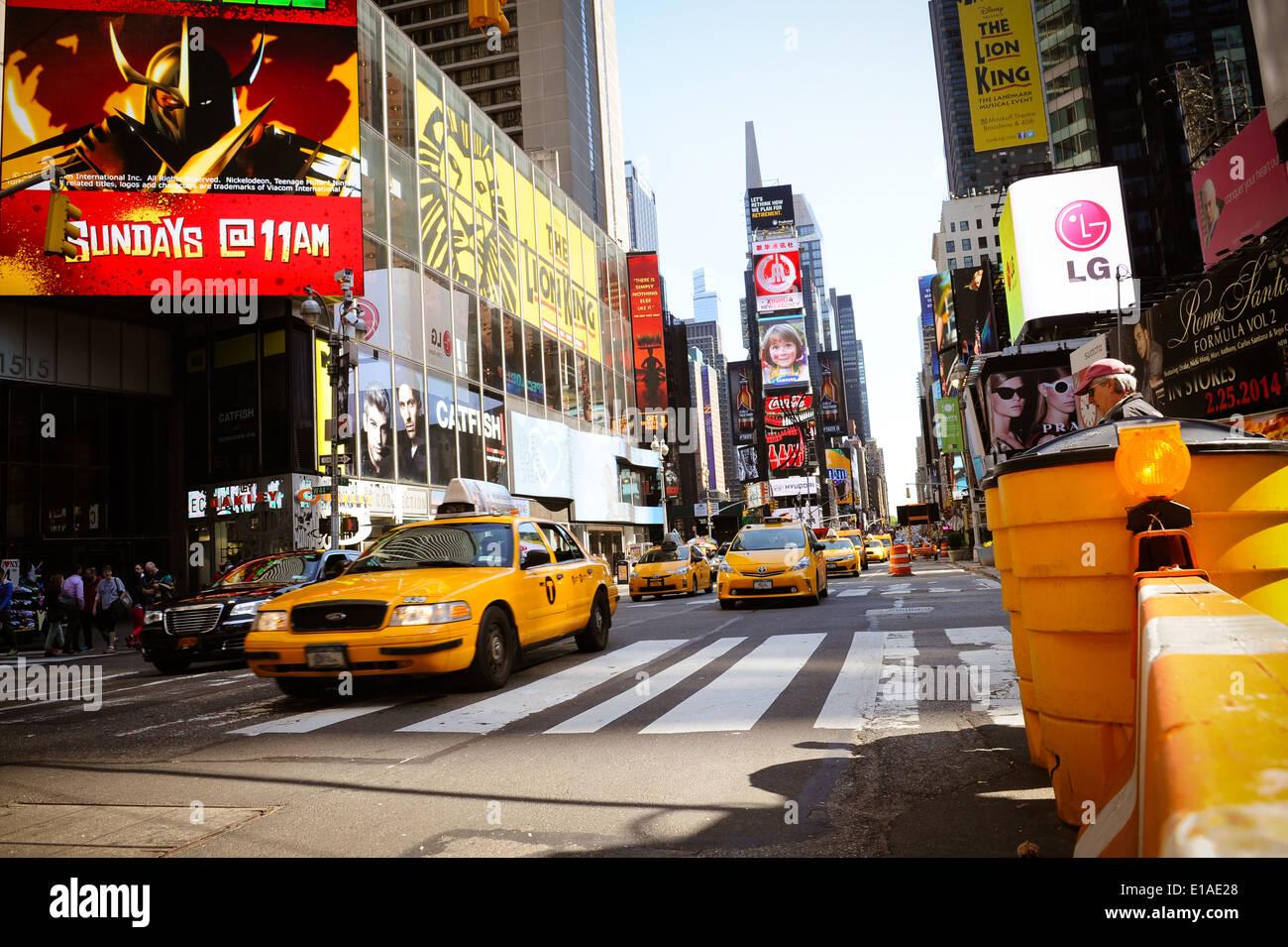 La città di New York Manhattan Immagini Stock